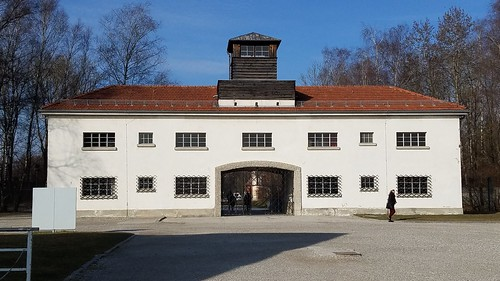 Entrance to Dachau Concentration Camp, Munich Germany