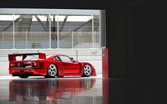 F40 GTE (Alex Penfold) Tags: ferrari f40 gte red supercars supercar super car cars autos alex penfold 2017 dubai autodrome