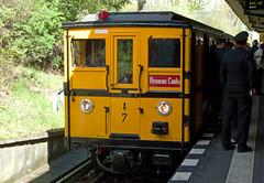 BVG Berlin U3 Historische U-Bahn A1  16.4.2017 (rieblinga) Tags: bvg berlin u3 historische ubahn baureihe a1 krume lanke 1642017 fahrt