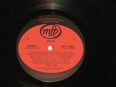 Pink Floyd - Relics - Side Two (Amateur Radio Station G4FUI) Tags: pinkfloyd vinyl relics lp mfp musicforpleasure