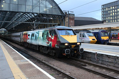 91111 KGX 1803-SKI 14-10-14 (1) (6089Gardener) Tags: kingscross ecml 91111 class91 ww1commemorativelivery