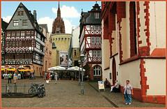 Rmerberg, Frankfurt, Francfort, Hesse, Deutschland, Germany, Allemagne (claude lina) Tags: architecture germany deutschland town frankfurt allemagne ville francfort rmerberg hesse