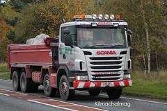 DFL Inverness Scania G440 L90 DFL (Kilmachalmag) Tags: rock energy tipper soil crushing trucks contract armour screening renewable lorries rossshire rigid lorrys stabilisation dfldaviotfarmslimited 12lotlandstreet invernessiv11pa
