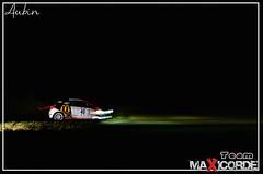 N°45 (AubinGPhoto // Aubin MaXicorde) Tags: france cars race nikon automobile flash rally renault porsche nuit peugeot rallye pirelli asphalte sportautomobile filée d7000