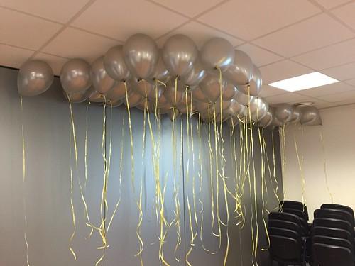 Heliumballonnen Zilver Dorpshuis Hekelingen