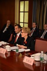 Premiers meet with Huang Shuhe, Vice Chairman of SASAC / Les premiers ministres rencontrent Huang Shuhe, vice-président de la SASAC