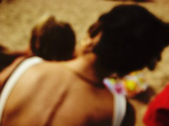 ... (Catherine...) Tags: summer color neck mother atthebeach t motherhood plage couleur maternit nuque artlibre