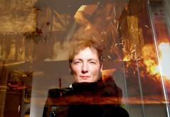 Blendung (miramann) Tags: self glare feuer reflexion spiegelung 8497 blendung miramann