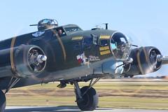 Texas Raiders B-17G (Bill Jacomet) Tags: show field airport wings texas tx air over houston airshow b17 raiders 2014 ellington b17g texasraiders