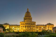 Texas Capitol - Austin, Tx (OscarAmos) Tags: sunset architecture austin downtown texas hdr lightroom photomatix tonemapped detailenhancer topazadjust nikond5100