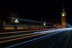 Streaks (Mark Eggleton) Tags: london westminster lights traffic streaks westminsterbridge nighttimephotography thehousesofparliament thepalaceofwestminster