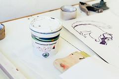 Plastisol Ink (Johhnnyyv) Tags: ink 50mm design graphicdesign diy artwork screenprint bokeh screen screenprinting printing plastisol vsco vscofilm johnnyvphotography johnnyvillamar