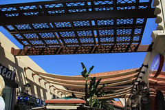 Spectrum Awnings (lefeber) Tags: california architecture mall grate shadows orangecounty swags irvine awnings spectrumshoppingcenter