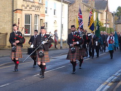 Remembrance Sunday in Cottenham, Cambridgeshire (Kirkleyjohn) Tags: remembrancesunday cottenham remembrancesundaycottenham cambridgeshirecaledonianpipeband
