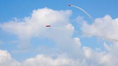 #236 (ekidreki) Tags: show blue sky cloud skyline clouds project skyscape lens airplane airport nikon skies belgium belgique zoom cloudy aircraft air skylight full airshow frame tele 365 300 nikkor 70300mm 70 zoomlens telelens 70300 d610 kleinebrogel telezoomlens