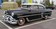 1952 Chevrolet 2103 Sedan (crusaderstgeorge) Tags: cars chevrolet sedan sweden gävle chrome classiccars 1953 americancars 2103 americanclassiccars blackcars 1953chevrolet2103sedan