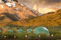 Standard Dome (Cascada Expediciones) Tags: chile torresdelpaine ecodome dome ecocamp patagonia cascada accommodation travel experience photo photography adventure nature landscape