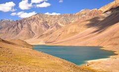 Chandra Taal (mala singh) Tags: india lake mountains water himalayas himachalpradesh spitivalley chandrataal