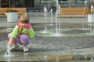 the fountain :)