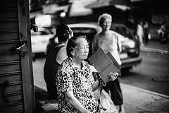 (pyl213) Tags: street leica nyc blackandwhite bw film littleitaly blackandwhitephoto streetphotoraphy