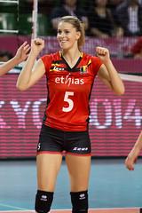 Heyrman Laura (backuper) Tags: belgium volleyball   heyrmanlaura