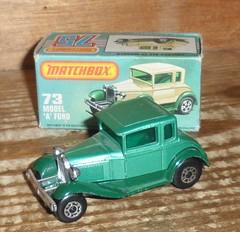 Matchbox Model A Ford (ukdaykev) Tags: green ford car modela vintage toy classiccar vintagecar ebay toycar matchbox superfast modelaford forsaleonebay matchboxsuperfast mb73 matchbox175