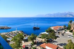 Mediterranean coast, Antalya (Florian  v18) Tags: travel canon turkey tour vessel 旅游 风景 佳能 土耳其 24105mm 地中海 安塔利亚 5d3 5dmarkiii