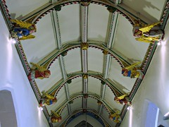 Chancel Roof, All Saints North Street, York (Aidan McRae Thomson) Tags: york roof sculpture church interior yorkshire carving medieval ceiling allsaintsnorthstreet