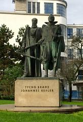 Tycho Brahe and Johannes Kepler (Dro-San) Tags: prague praha praga kepler tycho brahe pohorelec