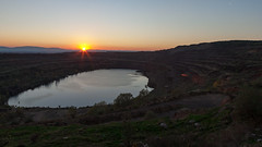 (VasilRaev) Tags: sunset sofia landmine openmine