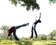 PF4A8493 (sir_mac_alot66) Tags: de flying cool hit funny capoeira fotografie action kick fotografia rabo fotografa arraia   fotograph fotoraflk rabodearraia