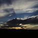 Sunset over Berthouville