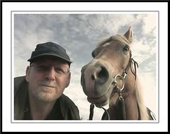Altijd pret met Sarah (gill4kleuren - 12 ml views) Tags: horse me sarah fun saar paard pret haflinger