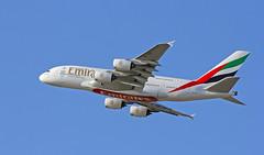 Emirates / Airbus A380-861 / A6-EDI (vic_206) Tags: barcelona plane airplane bcn flight emirates avin spotting vuelo airbusa380 canoneos60d canon70200f28lisii elpratdellobregar