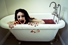 296.365.2014 (LiliCow) Tags: selfportrait scary blood bathtub octoberphotochallenge