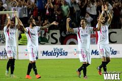 Sevilla 2-1 Villarreal (VAVEL Espaa (www.vavel.com)) Tags: sevilla pareja coke vidal 1415 sevillafc villarreal aspas villarrealcf ligabbva juanignaciolechuga
