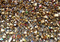 Paris Love Locks (TietjenUK) Tags: bridge paris france seine lock padlock lovelock pontdesarts tietjenuk colourartaward