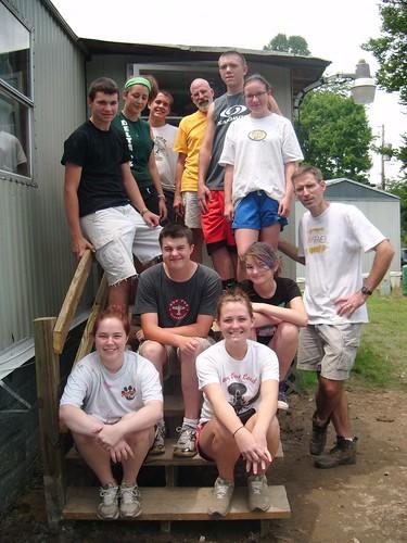 Janna, Sara, ??, Casey, Matt, Adam, Elisabeth, Ben, Dave, Rob and Maddie