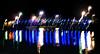 Heartbeat of Linedance (Emil de Jong - Kijklens) Tags: blue light night licht movement blauw nacht moved brug beweging bewogen heerhugowaard hartfilm kijklens