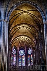 paris mon amour XIII (Bernardo Marchetti) Tags: windows paris church glass colors architecture amazing gothic saints arches stained notre dame parigi
