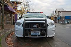 Mill Creek Police Department Ford Police Interceptor Sedan (andrewkim101) Tags: county ford mill creek sedan washington state police pd wa department interceptor snohomish