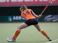 PA121233a (roel.ubels) Tags: hockey sport oz eindhoven wageningen zwart oranje fieldhockey 2014 hoofdklasse
