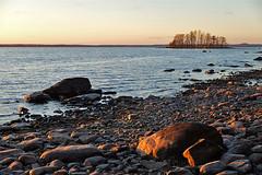 Joensuu - Finland (s.niemelainen) Tags: sunset lake suomi finland landscape finnland maisema autumm finlandia joensuu syksy jrvi auringonlasku karjala pyhselk kuhasalo pohjois