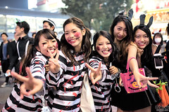 Halloween Night in Shibuya (tokyofashion) Tags: street costumes party halloween japan tokyo costume crowd shibuya  2014