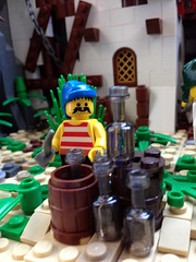 La Torre Olvidada (Capt. Cristbal F.) Tags: tower island monkey lego pirates tropical rum