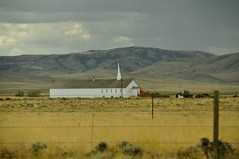 A Small White Church (faungg's photos) Tags: usa white west church nature landscape us small western wyoming spiritual   wy