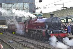 LMS Jubilee Class 45699 Galatea (Will Swain) Tags: city uk travel england west train coast britain jubilee main north transport rail railway trains class line cumbria railways carlisle 2014 lms mainline galatea wcml 45699