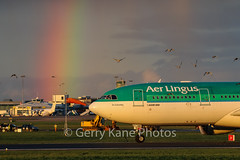 PLANES and OTHER STUFF!!! (gerrykane214) Tags: ireland dublin birds canon eos airport rainbow aviation 330 international commercial planes airbus aer lingus rwy28 eiduo