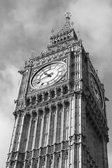 Ben (ircmaxell) Tags: uk sky bw london perspective bigben
