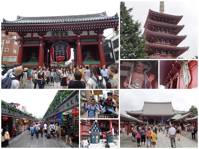 日本東京自助旅遊淺草雷門仲見世街page